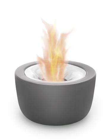 Tabletop Gel Firepit ø 18 cm,F