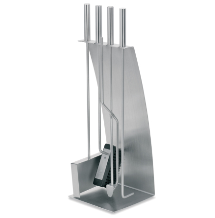 5 pc Fireplace Set, bow front,