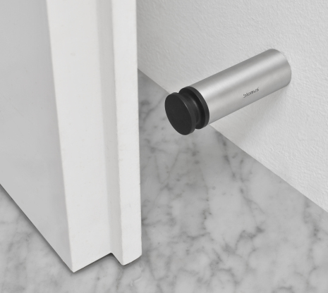 Wall-Mounted Door Stop, 8 cm,E