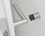 Wall-Mounted Door Stop, 4 cm,E