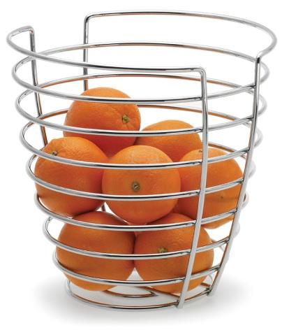 Basket H 24 cm, tall round,WIR
