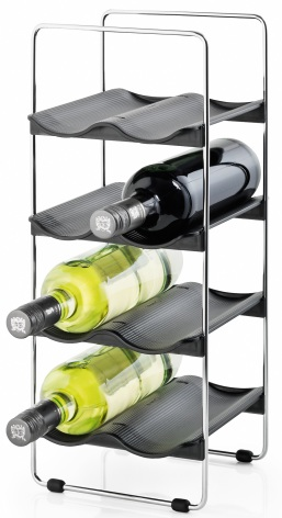 Wine rack, holds 8 bottles,VIN