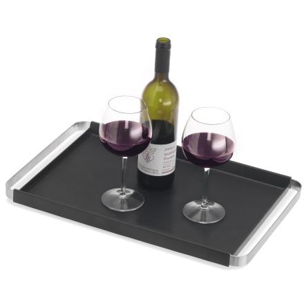 Tray, rectangular, non-skid,PE