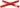 Trivet, red,KNIK