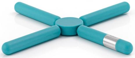 Trivet, blue,KNIK