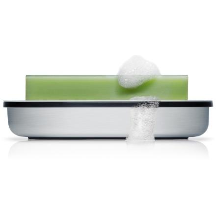 soap dish, matt brushed, AREO