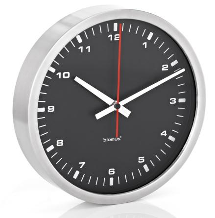 Wall Clock, black, Ø 24 cm,ERA