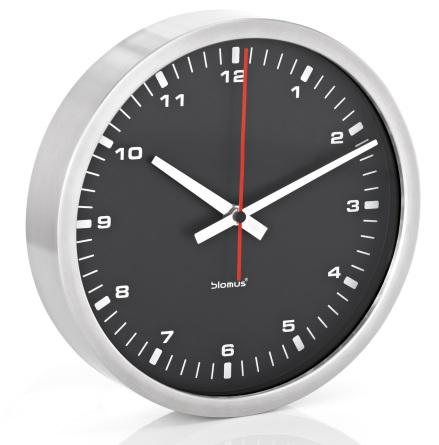 Wall Clock, black, Ø 40 cm,ERA