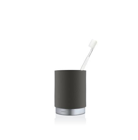 Toothbrush Mug, grey,ARA
