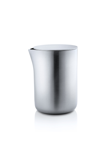Creamer, lg, with stainless st