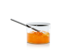 Condiment Glass with stainless