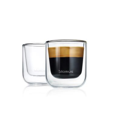 NERO glas 2-pack Espresso